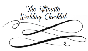 wedding to-do list