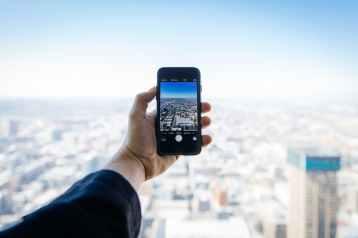 landscape street rooftop iphone
